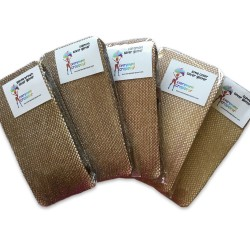 Belize flag face mask