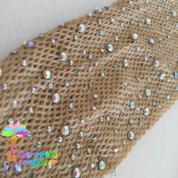 Dominica flag face mask -...