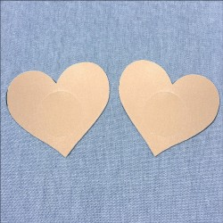 Rhinestone stockings - beige
