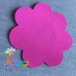 Black petal nipple covers