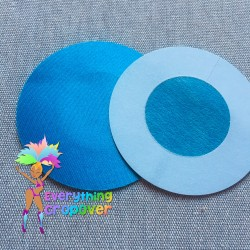 Beige petal nipple covers