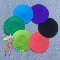 Dark blue petal nipple covers