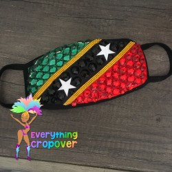 Iridescent fanny pack with...